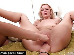Anal, Blonde, Fisting, Russe