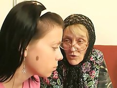 Blowjob, Cumshot, Granny, Old and Young
