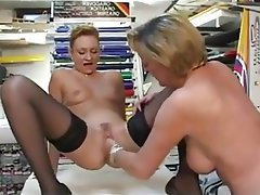 Mature anal fisting tube