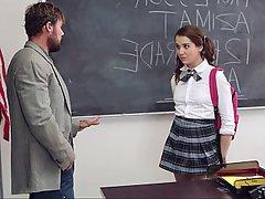 Teacher, Teen, Blowjob