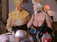 Big Boobs, Latex, Lesbian, German