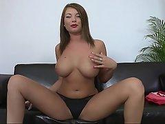 Babe, Big Tits, Blonde, Casting