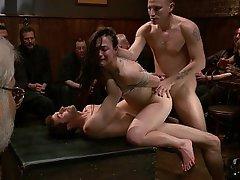 Anal, BDSM, Brunette, Fucking