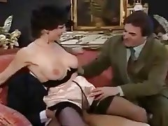 French, Old and Young, Threesome, Vintage